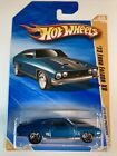 HOT WHEELS 10 HW Premiere 73 Ford Falcon Factory Error Variation Blue Over Yell1