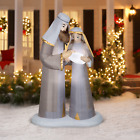 65FT Christmas Inflatable Nativity Scene LED Indoor Outdoor yard Decoration