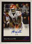 2017 Leaf Ultimate Draft Mike Williams Purple Foil RC Auto 1 1 Chargers Clemson