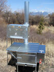 Trail Boss Lg Combo Wood Camp Tent Stove - Riley Stoves